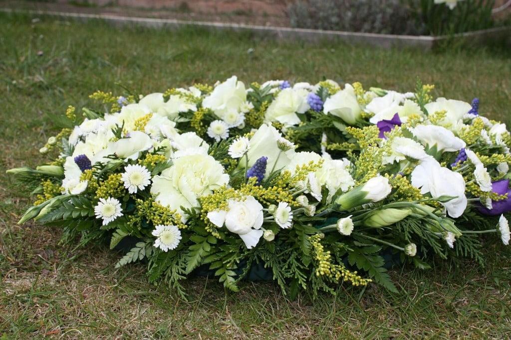 napis na wieniec pogrzebowy